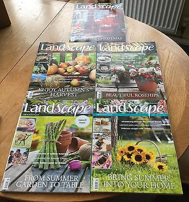 First 5 Landscape Magazines 2012 Including Launch Issue