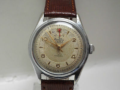 Gents Vintage Bentima Star Power Reserve Automatic Wrist Watch Swiss Made