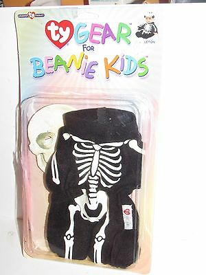 Ty Gear For Beanie Kids - Skeleton - Free Us Shipping!