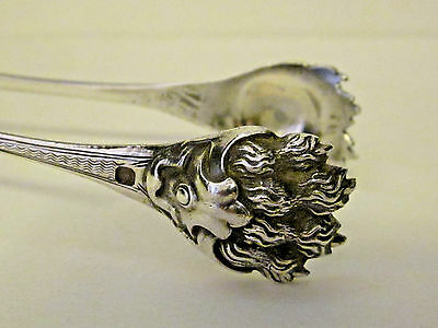 Antique Sugar/ice Tongs,by Philippe Berthie 1841-51,french Sterling .950 Silver