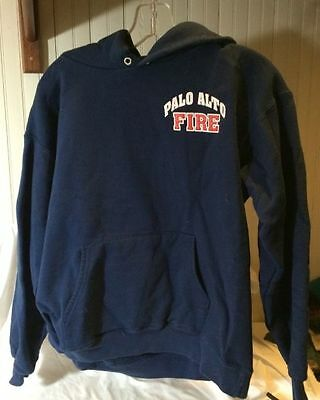 Hooded Sweatshirt with Palo Alto, CA Fire Dept Logo - Size S Adult