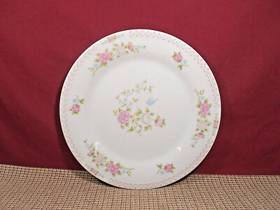 """Crown Ming China Bird of Paradise Pattern Dinner Plate 10 1/2"""""""