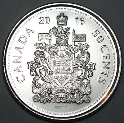 Coins & Paper Money Careful Canadian 1970 Unc 50 Cents