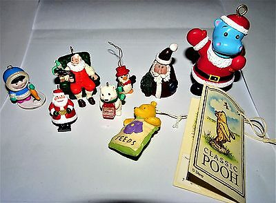 Miniature Christmas Ornament Lot~Hallmark & More