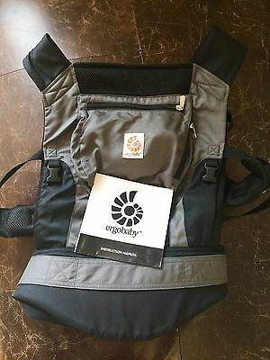 Ergobaby Performance Baby Carrier  With Instruction Book