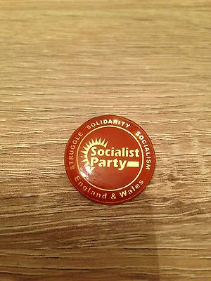 Socialist Party Badge