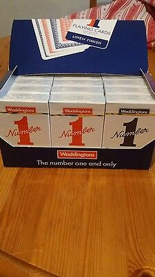 Waddingtons No1 Playing Cards Pack 12