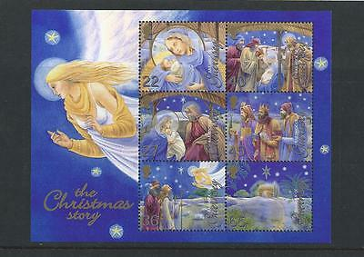 Guernsey Mint Stamps 2002 Christmas mini-sheet