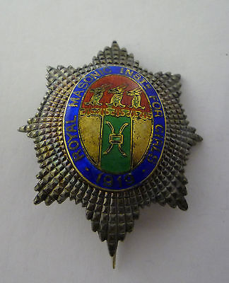 Royal Masonic Institution For Girls 1919 Silver Jewel / Badge / Brooch