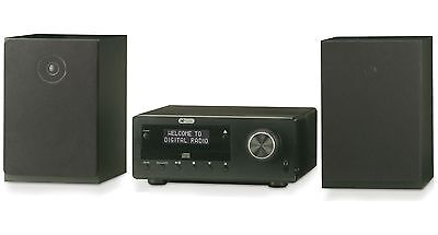 Acoustic Solutions Bluetooth DAB CD Micro System 20W - Black QTS15.