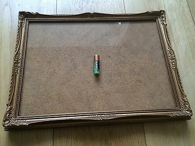 Antique Wood & Gilt Gesso Picture Frame 19th Century