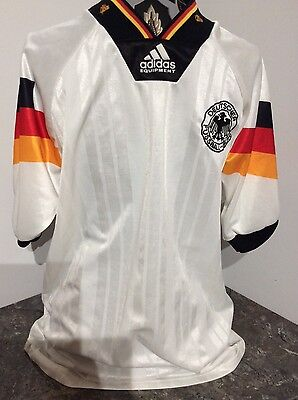 German national football shirt in home colours, size Medium