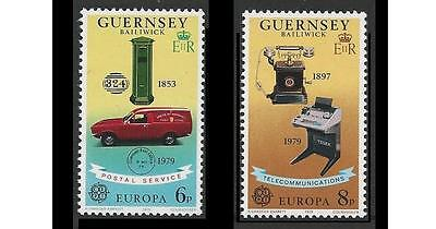 Guernsey Mint Stamps 1979 Europa - Communications