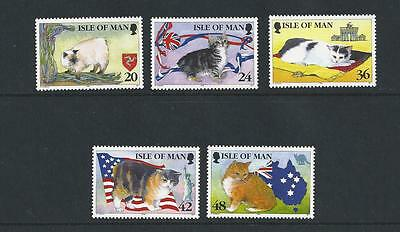 Isle of Man Mint Stamps 1996 Manx Cats