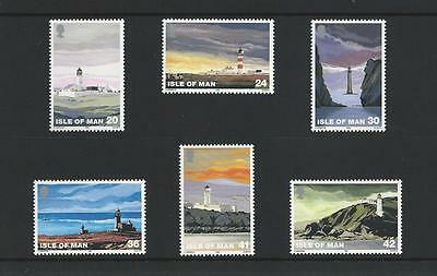 Isle of Man Mint Stamps 1996 Lighthouses