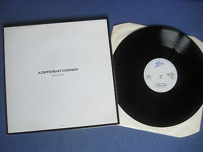 "George Michael 12"" - A Different Corner Gatefold Version"