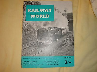 Railway World Ja1956 Great Southern & Western (Ireland),Bo'ness,Clogher,Tonmawr