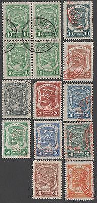 Colombia stamps. Air stamps. Cancelled