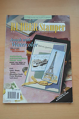 Rubber Stamper Magazine American, May/june 2002