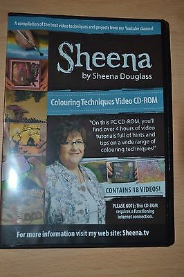 Crafters Companion Sheena By Shena Douglas Colouring Techniques Crafting Cd Rom