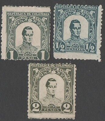 Colombia.  Early Colombian stamps. MNH