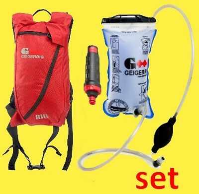 """""""THE RIG"""" camel back Hydration system with an INLINE filter by Geigerrig"""
