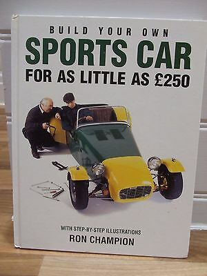 BUILD YOUR OWN SPORTS CAR... Ron Champion, Haynes, F976