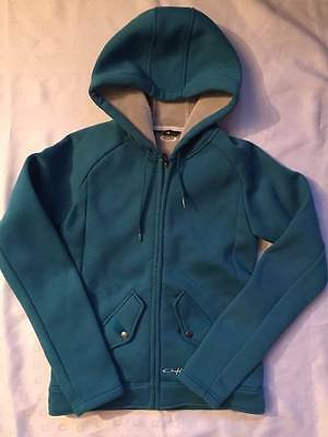Ladies OAKLEY Lined Hooded Fleece/ Jacket. Lovely and warm. Size Small