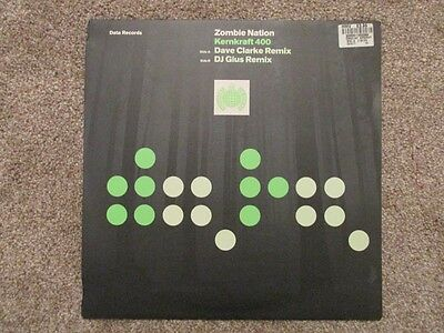"12"" dj vinyl Dance/House - Zombie Nation, Kernkraft 400, Ministry of Sound"