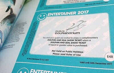 Dubai Entertainer 2 for 1 Vouchers - Dubai Dolphinarium - Dolphin & Seal Show