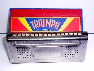 ARMONICA A BOCCA TRIUMPH M.HOHNER  made in Germany