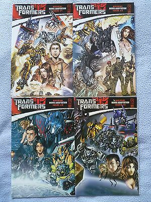 Transformers 2007 Offical Movie Adaptation 1 - 4 IDW
