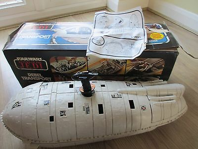 Palitoy Rebel Transport Vintage From Return Of The Jedi 1983 With Original Box.