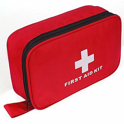 85-Piece Emergency First Aid Kit Bag Trauma Survival Camp
