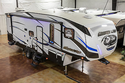 New 2017 265DBH8 Lite Light Weight Bunkhouse 5th Fifth Wheel Bunks Auto Leveling