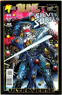 RUNE / THE SILVER SURFER (Ultraverse) one book