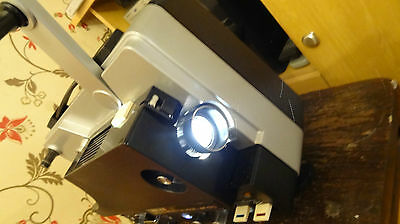 super 8 mm film  projector yelco ls 510 sound working