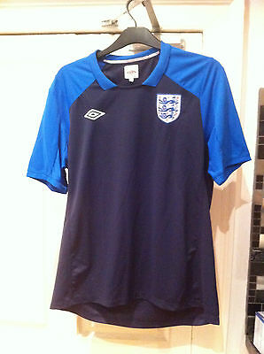 England football dark blue training shirt XL 2010