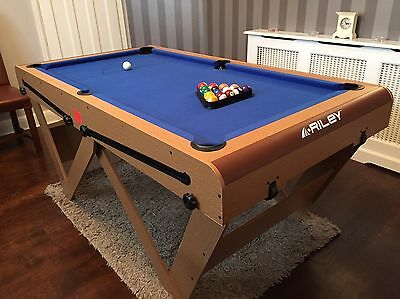 BCE Riley 6ft Pool Table NEW