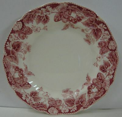 """Johnson Brothers STRAWBERRY FAIR Bread Butter Plate (6-1/4"""") Multiple Available"""