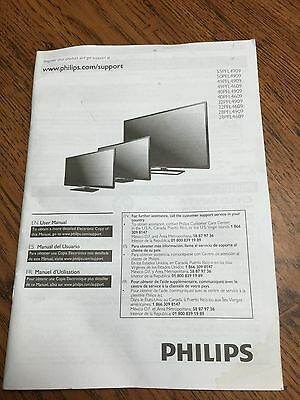 Philips 49PFL4909/F7 Owner's Manual