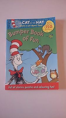 Brand New The Cat In The Hat Book With Stickers