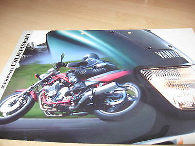 Yamaha XJ600S/N Diversion Motorcycle Sales Brochure 1999