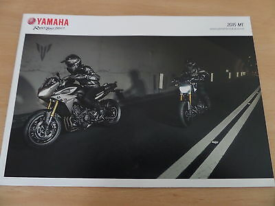 Yamaha MT Range Motorcycle Sales Brochure 2015 - 1