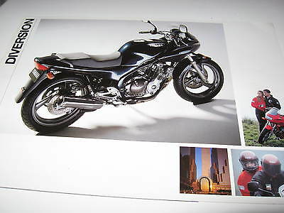 Yamaha XJ600S Diversion Motorcycle Sales Brochure 1992