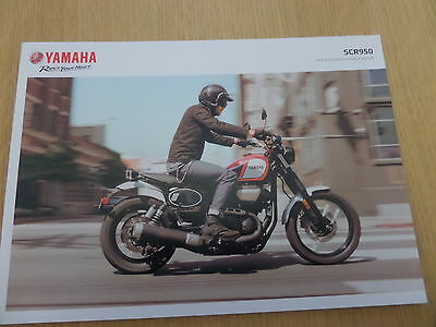 Yamaha SCR950 Motorcycle Sales Brochure 2017
