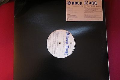 Snoop Dogg – Selections From Paid Tha Cost To Be Da Bo$$ double 12 dj premier
