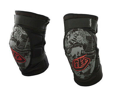 Troy Lee Knee Pads Guards Enduro Dirt Bmx Dh - Brand New