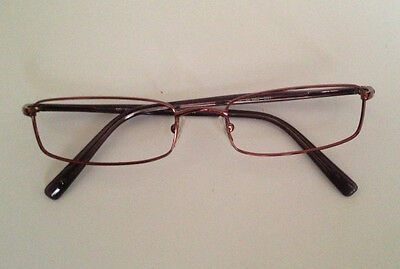 RALPH LAUREN glasses frames, metal, purple, rectangular, unisex, no lenses