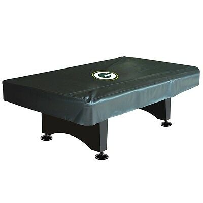 NFL Green Bay Packers 8 ft  Fitted Leatherette Pool Table Cover w/ FREE Shipping